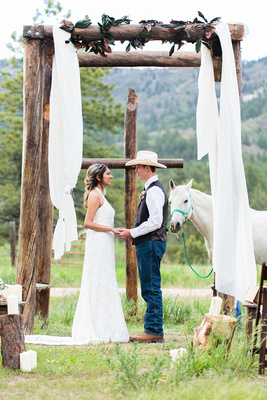 Lifemark Productions: Snow Creek Larkspur Styled Bridal Shoot &emdash;